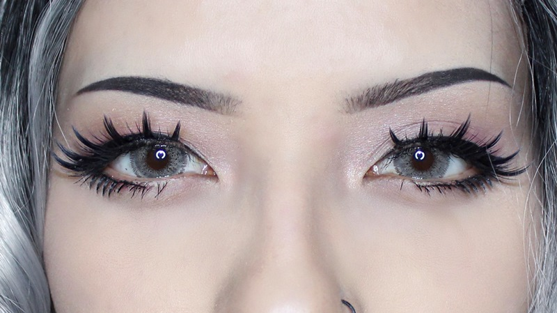 ifairy nobluk grey colored contacts with real photo