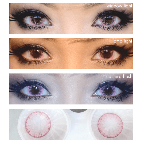 Icy Melon Pink Lens